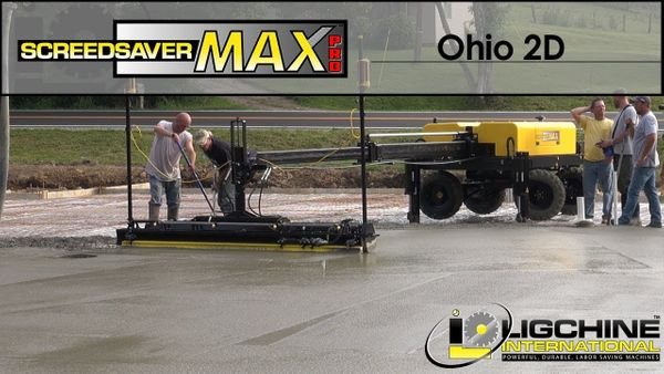 Concrete Floor SCREEDSAVER MAX PRO Makes Quick Work At A Dollar General