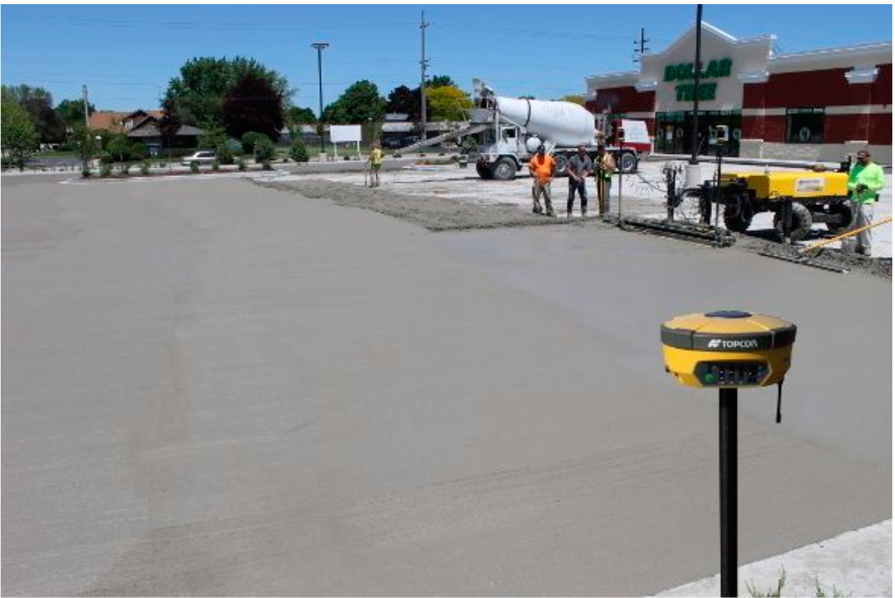 3D Paving System in the field image